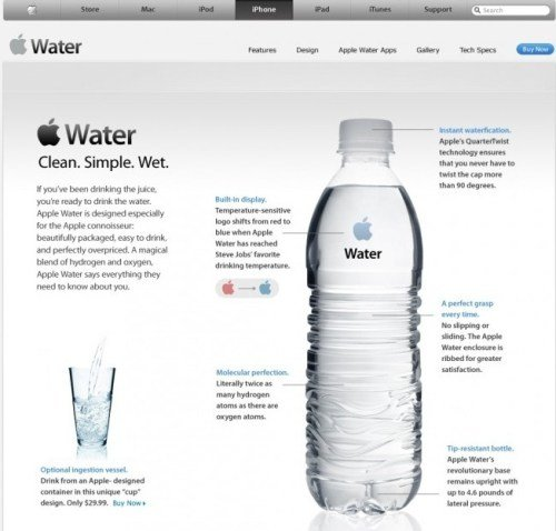 apple iwater