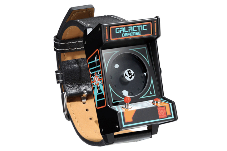 retro arcade watch