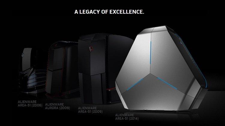 L'histoire de l'Alienware A51