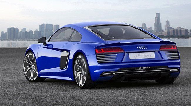 audi r8 e tron 100 lectrique et driverless. Black Bedroom Furniture Sets. Home Design Ideas