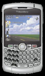Un design... sérieux (BlackBerry Curve 8300)
