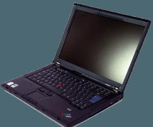 Le ThinkPad, grand succès d'IBM dans les années 1990 et 2000