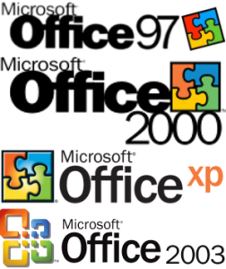 Les versions d'office s'enchaînent à un rythme rapide au début des années 2000