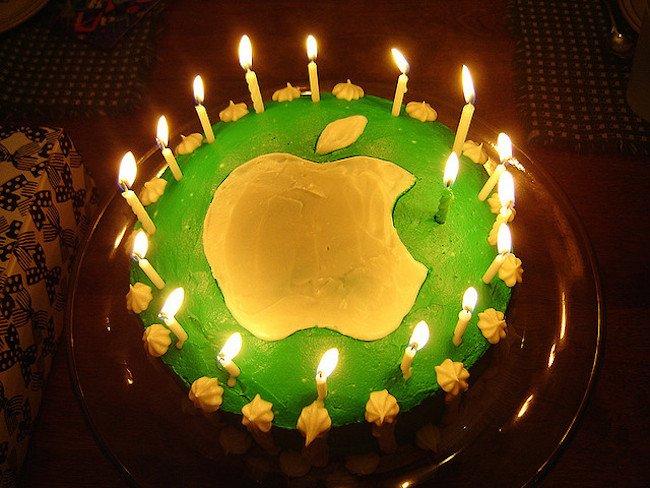 Apple A 40 Ans Bon Anniversaire Quand Même