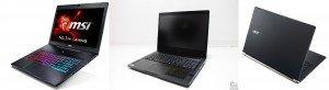 Les 3 série de laptop citées : Les design les + fins sur le marché ?