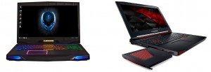Dell (Alienware) et Acer (Predator) : une course au design agressif?