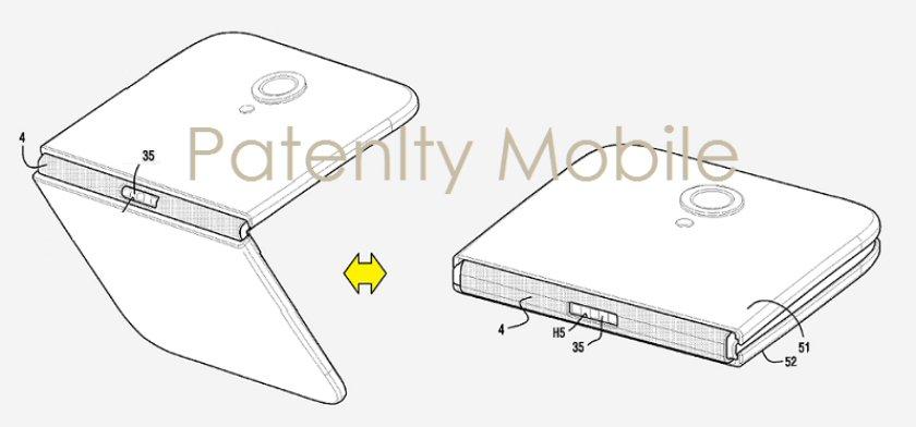 Samsung-smartphone-pliable-brevet