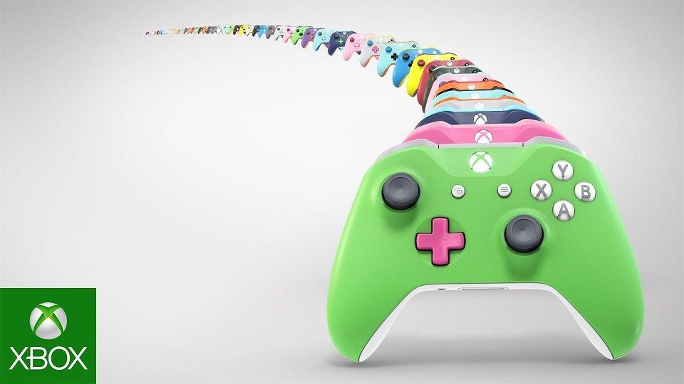 Xbox One Design Lab - Xbox Wireless Controller