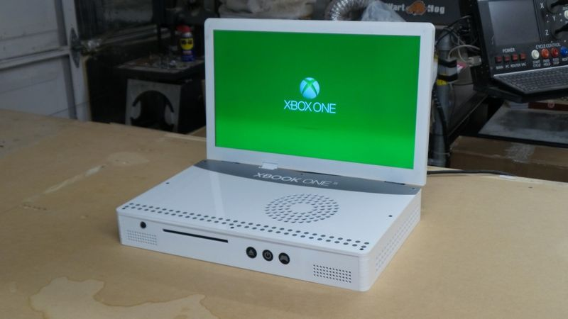 Book Cover White Xbox One : Ce gars a réussi à transformer une xbox one s en