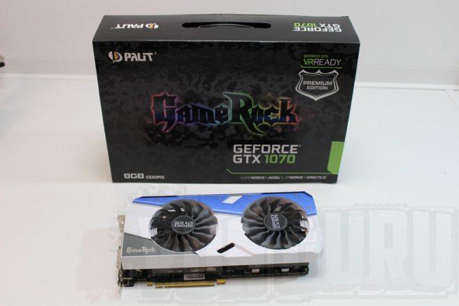 Palit GTX 1070 Gamerock PE