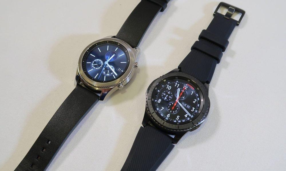 samsung galaxy gear s3 la nouvelle smartwatch de samsung. Black Bedroom Furniture Sets. Home Design Ideas
