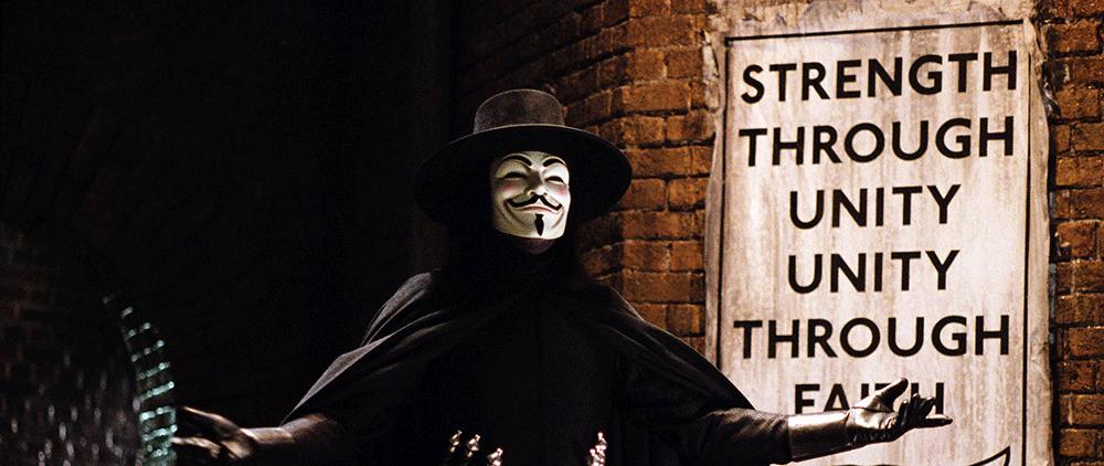 V de V for Vendetta