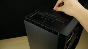 Cooler Master Mastercase Pro 6 dessus
