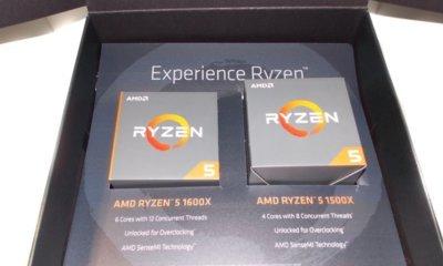 Ryzen 1500x et 1600X