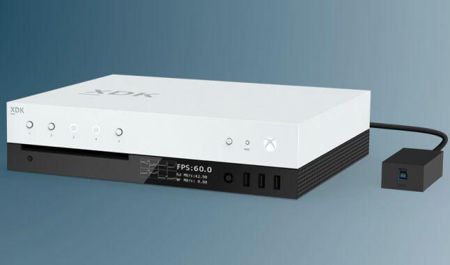 Prototype de la version de développement de la Xbox Scorpio