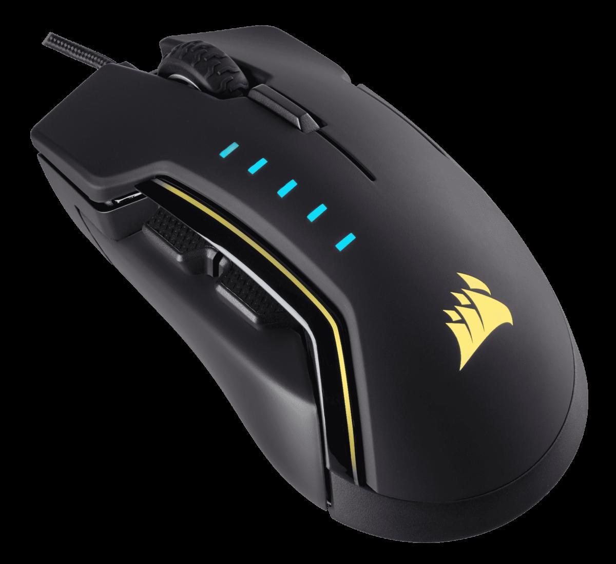 GLAIVE RGB : la nouvelle souris customisable de Corsair
