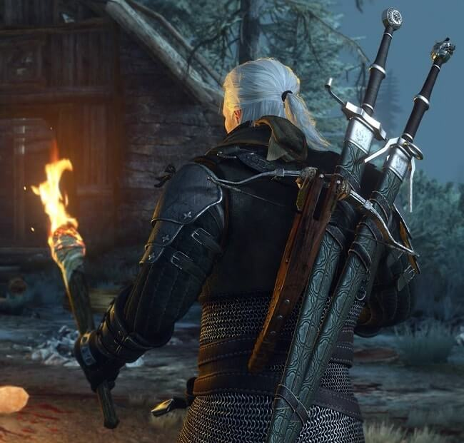 The witcher III : effet de torche sans NVidia GameWorks Flow