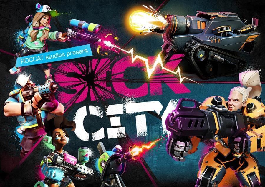 Sick City : le premier jeu signé ROCCAT