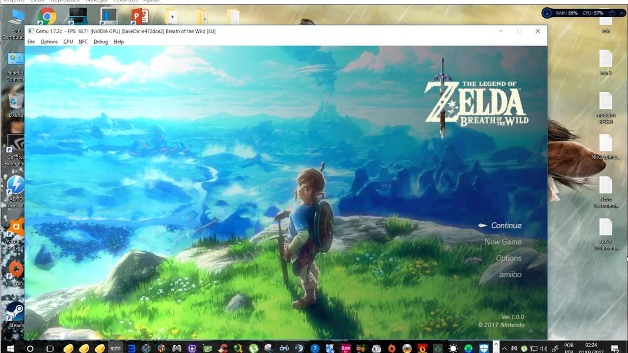 Comment vais-je pouvoir jouer à Zelda BOTW sans Switch ni Wii U ?