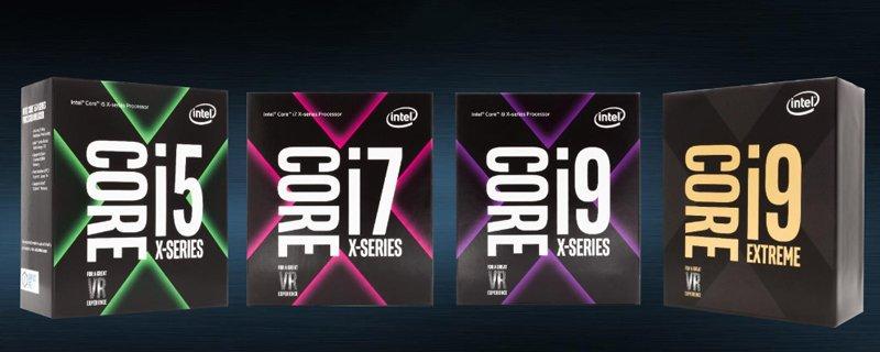 Intel Core X gamme