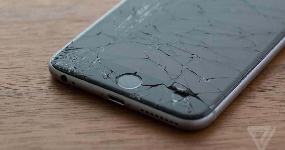 Apple iPhone 7 brisé