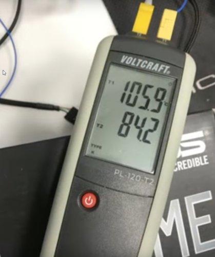 La X299 a un peu chaud