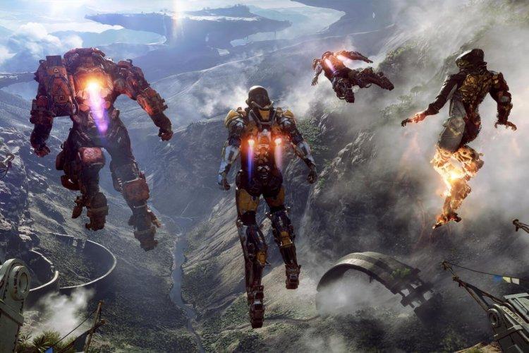Anthem jeu vidéo Bioware