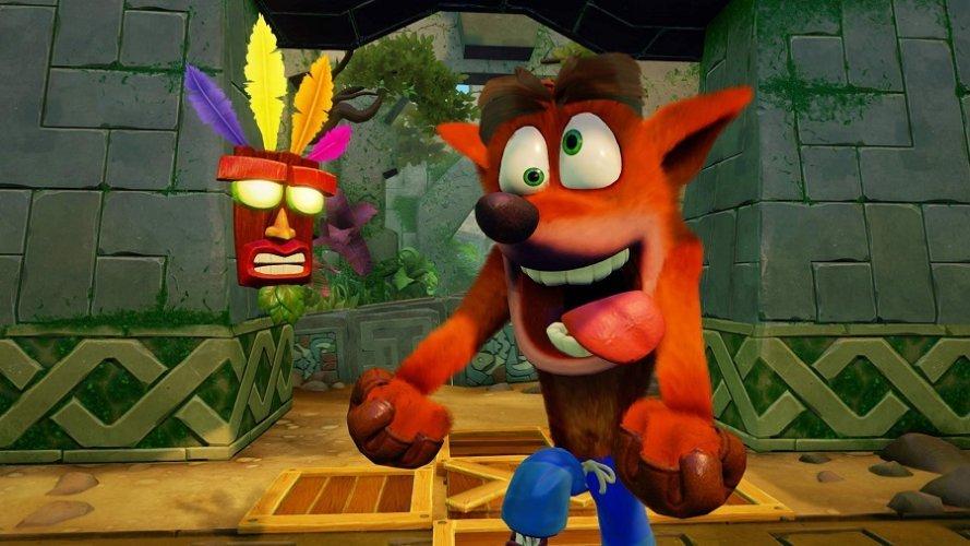 Crash Bandicoot continue de faire le pitre