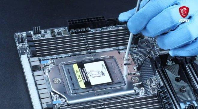 AMD Threadripper install