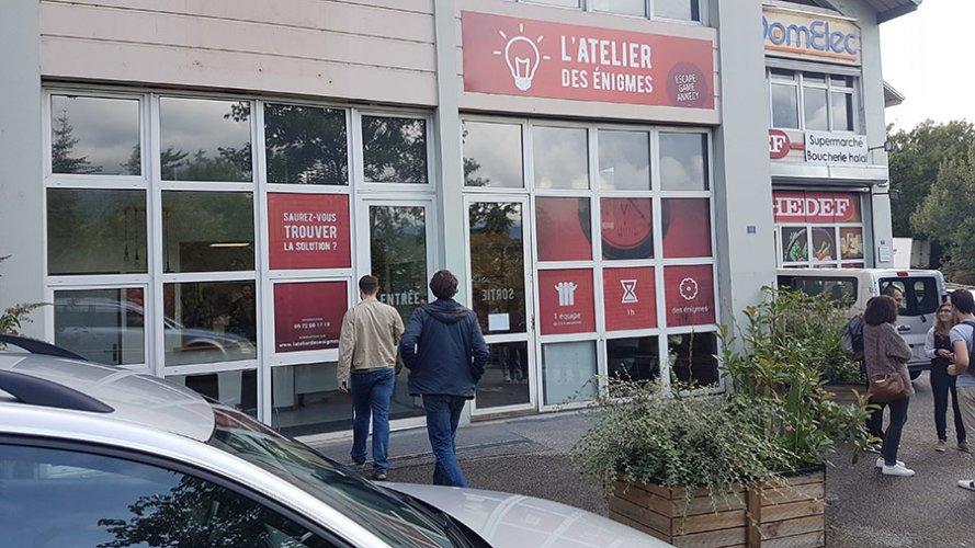 L'Atelier des Énigmes à Annecy