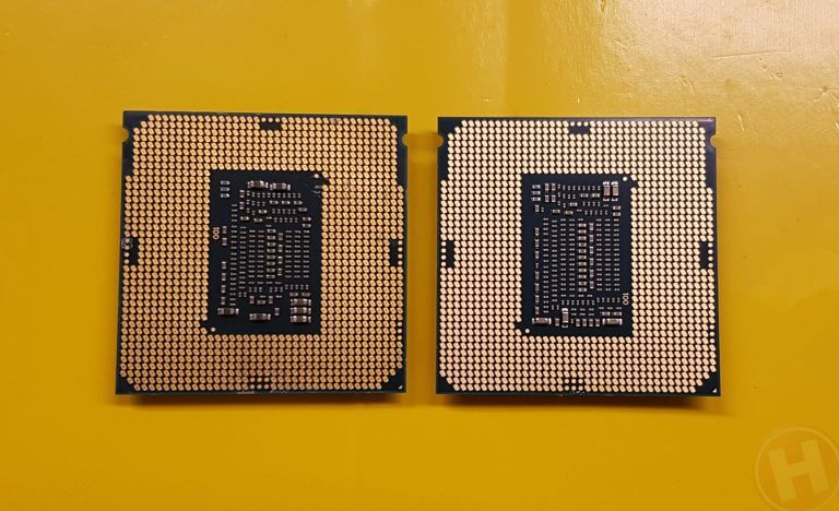 Coffee Lake 8700K vs 7700K