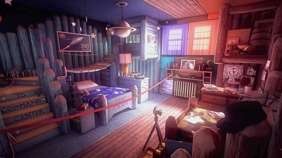 chambre What Remains of Edith Finch