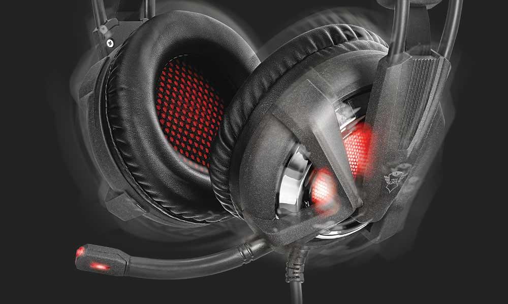 GXT 353 Trust Gaming vibration