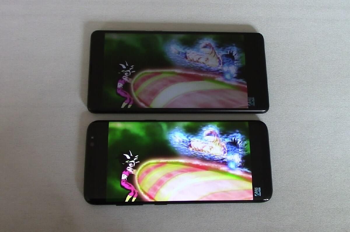 Xiaomi mi mix 2 écran vs S8 dbs