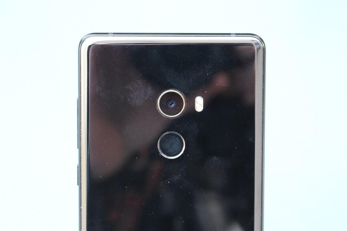 Xiaomi mi mix 2 lecteur empreintes
