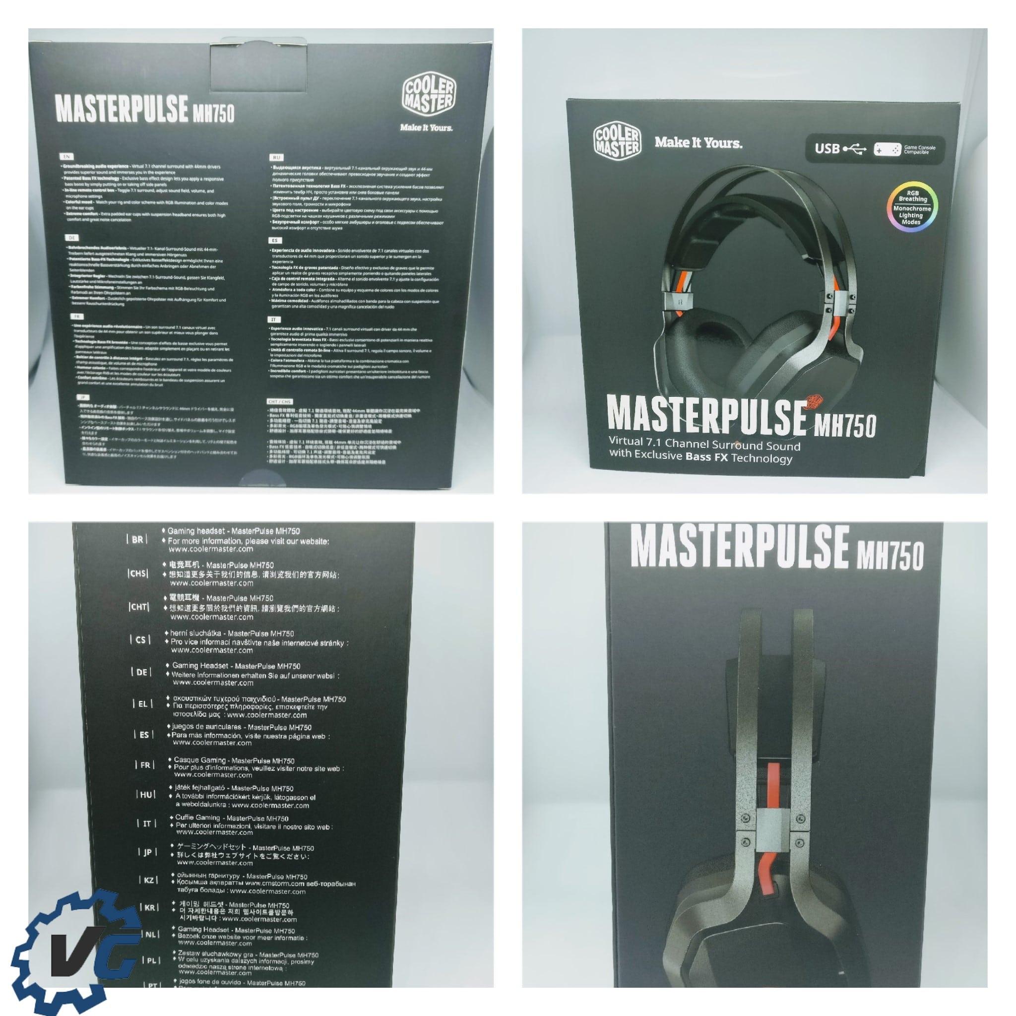 casque coller master masterpulse mh750