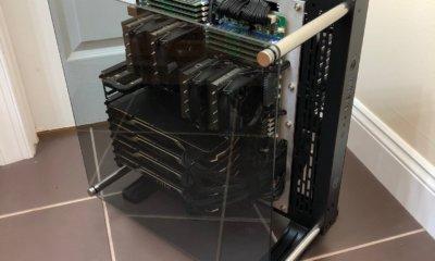 hardware porn 4 nvidia titan V