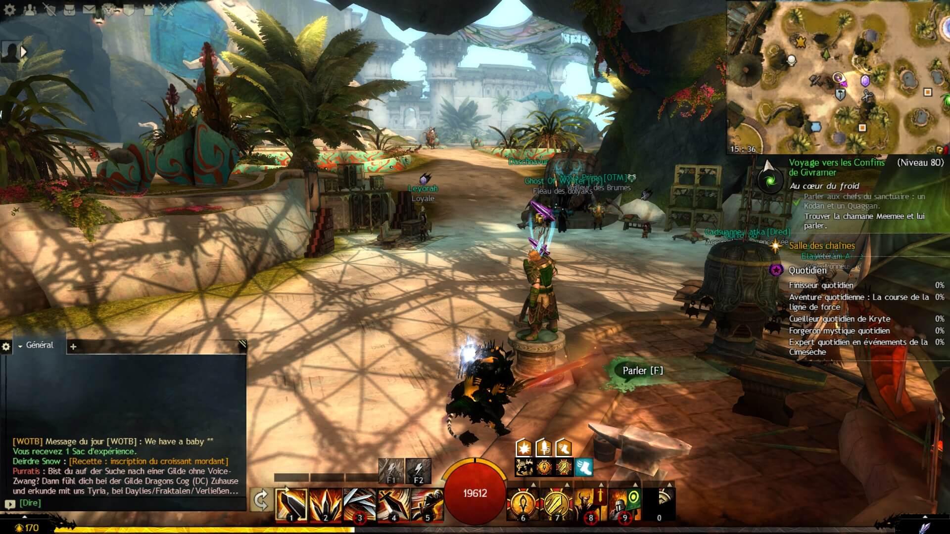 test acer nitro 5 sur le jeu guild wars 2