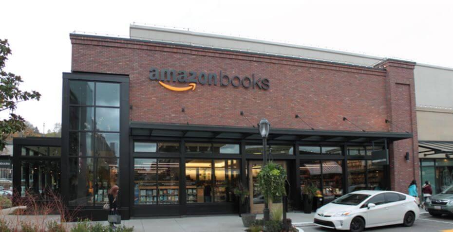 Libraire Amazon Books à Seattle