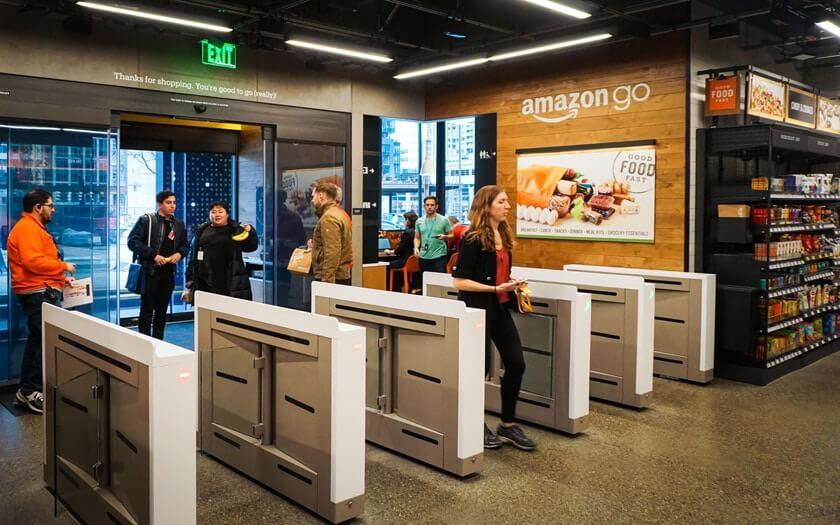 Magasin Amazon GO à Seattle