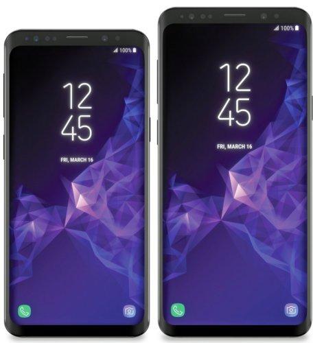 Images presse des Galaxy S9 et S9+