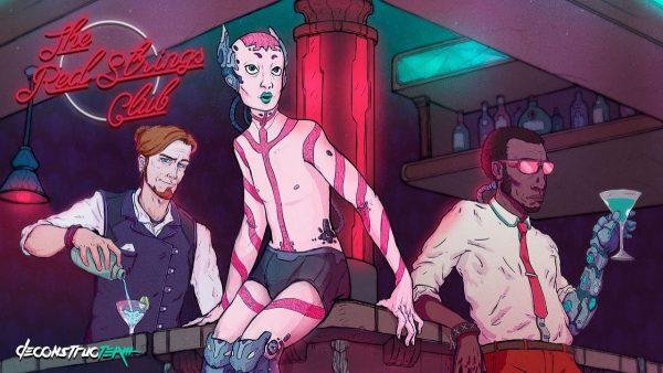 Les personnages principaux de Red Strings Club