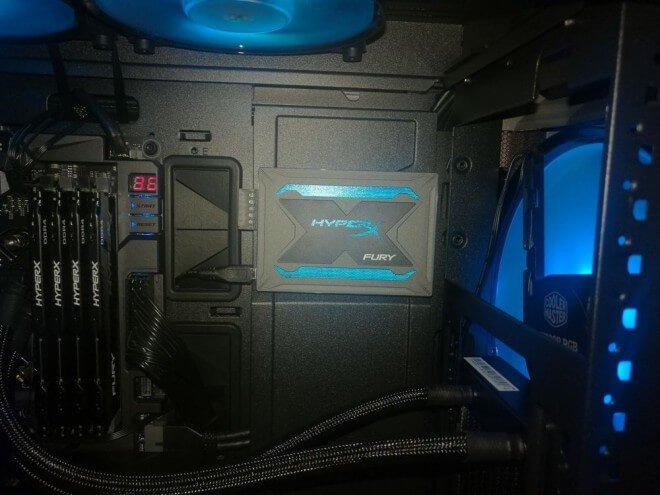 SSD HyperX FURY RGB