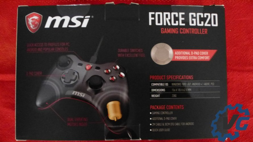 MSI Force GC20