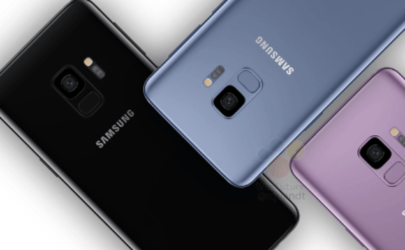 Design supposé du Samsung Galaxy S9