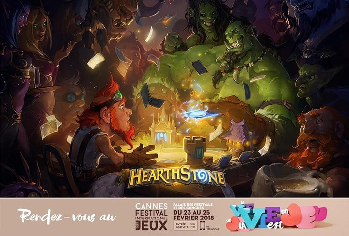 Festival International des Jeux de Cannes 2018 Hearthstone