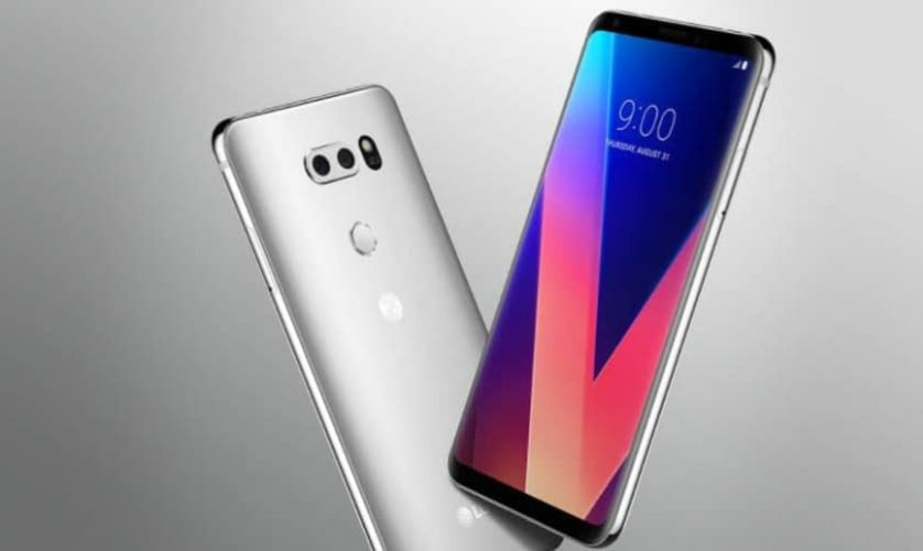 Design du supposé LG V30S