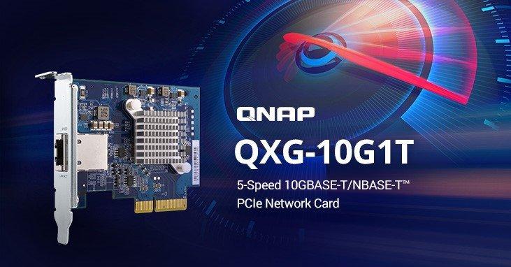 QNAP QXG-10G1T une carte réseau 10Gbps