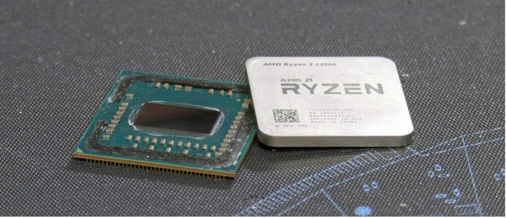 delid Ryzen 2400G