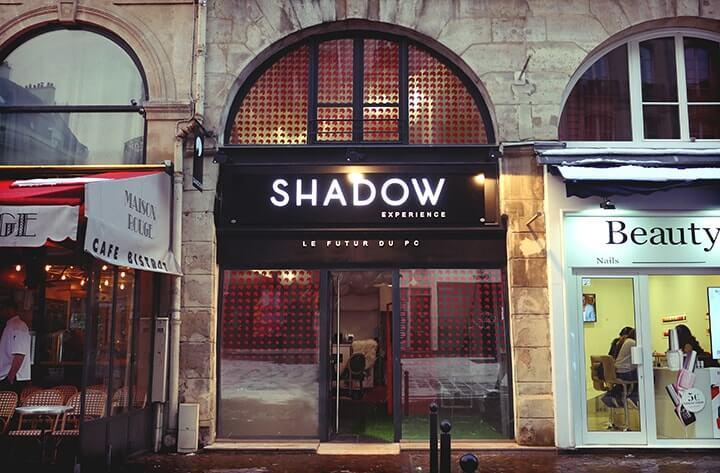 Shadow Experience boutique Paris